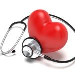 Srdce se stetoskopem. dětský lékař, Brno